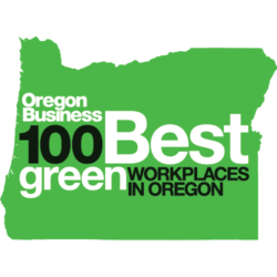 100 Best Green Companies in Oregon Award