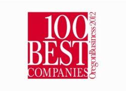 100 best comanies oregon business 2012 logo